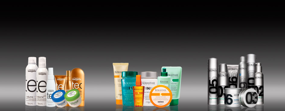 Hair Products, L'Oreal, Kerastase, Redken
